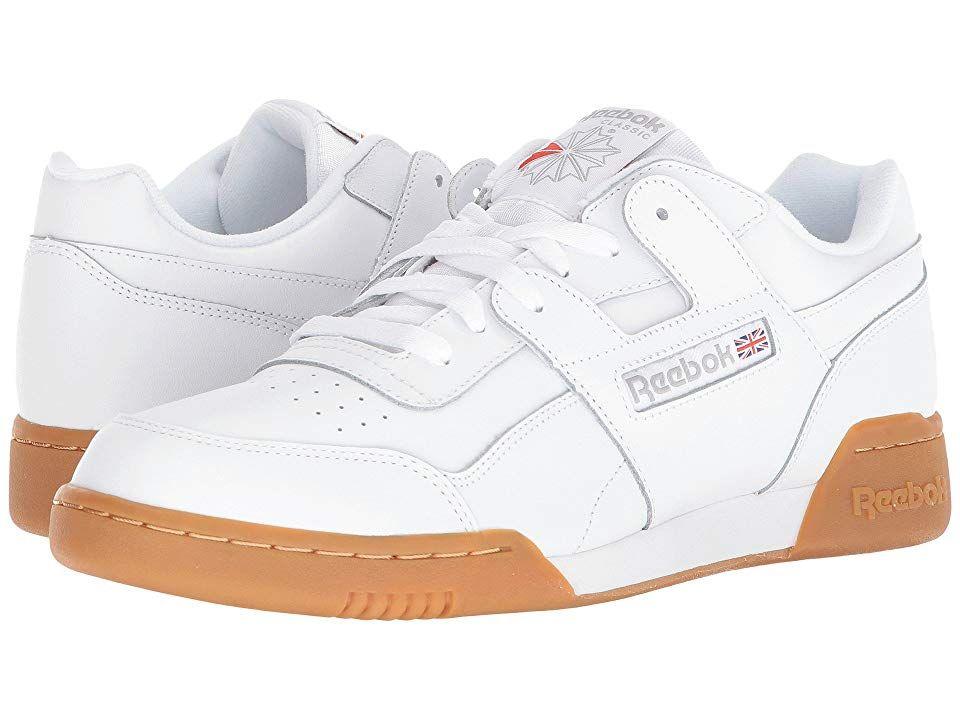 291d028a63e Reebok Lifestyle Workout Plus Men s Classic Shoes White Carbon Classic Red Reebok  Royal Gum