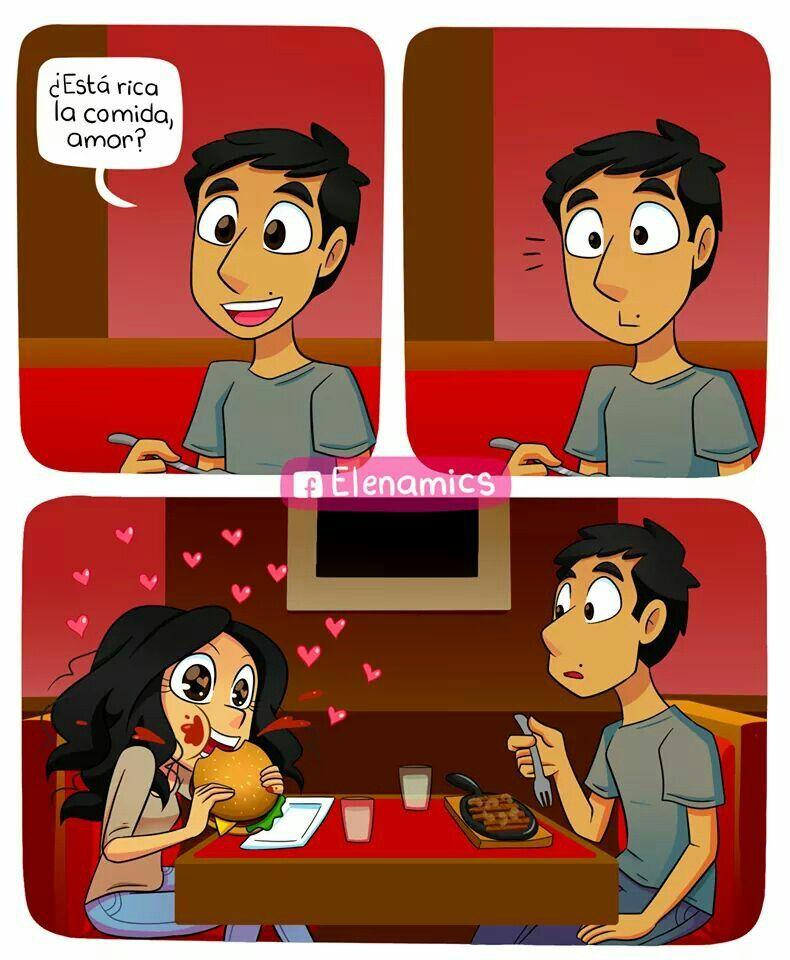 A Falta De Amor Comida Humor Memes Funny