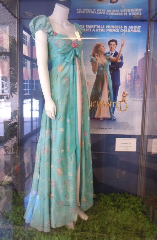 Giselles curtain dress worn in Enchanted....this site is so cool! displays tons of outfit remakes warn by characters on popular films!