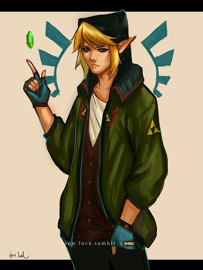 Legend of Zelda Link Japanese Style Womens Vest