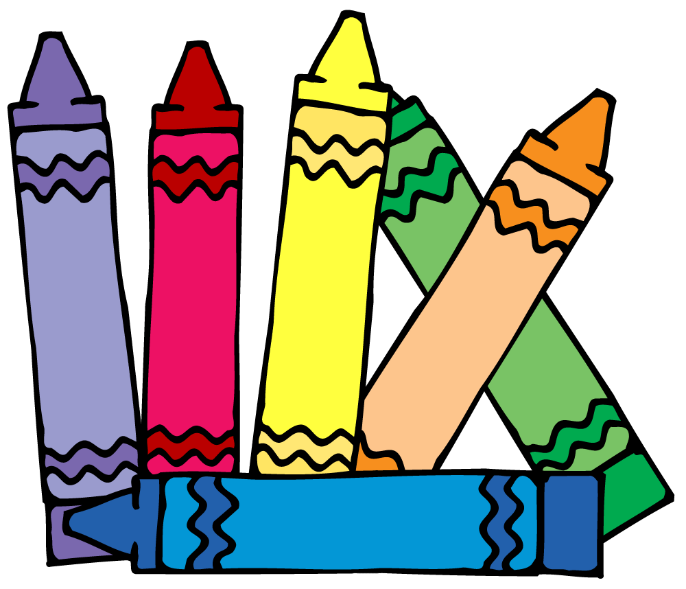 crayola crayons clipart clipart panda free clipart images dibujos rh pinterest com Breakfast Food Clip Art Student Cubbies