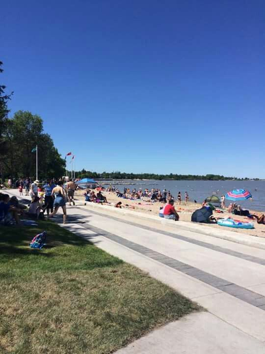 Winnipeg Beach Manitoba Canada