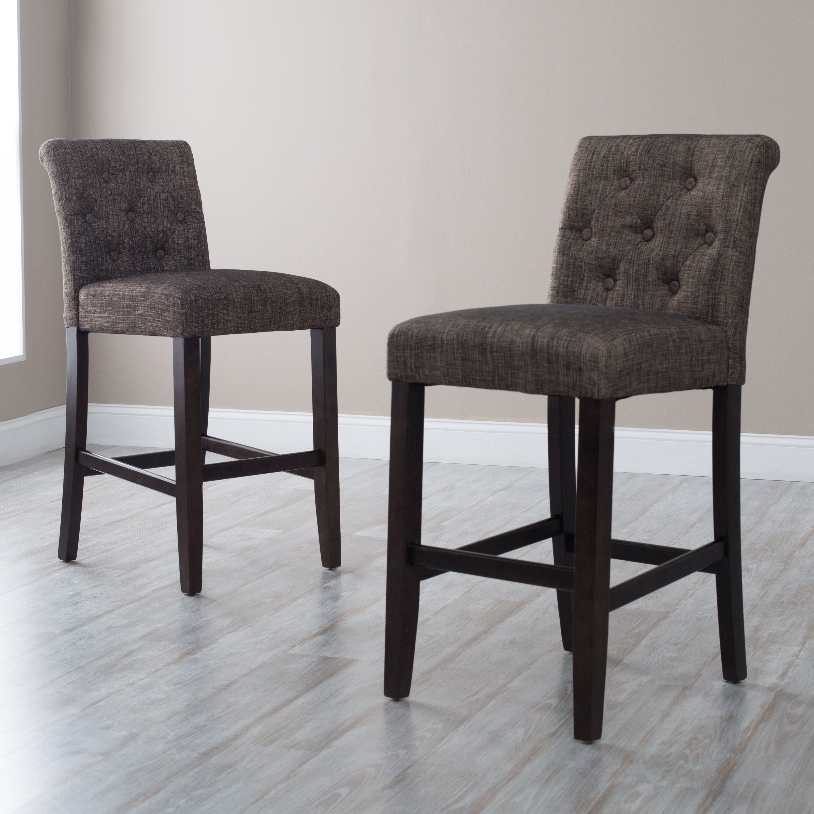 Have to have it Morgana yx Tufted Bar Stool $99 99 hayneedle