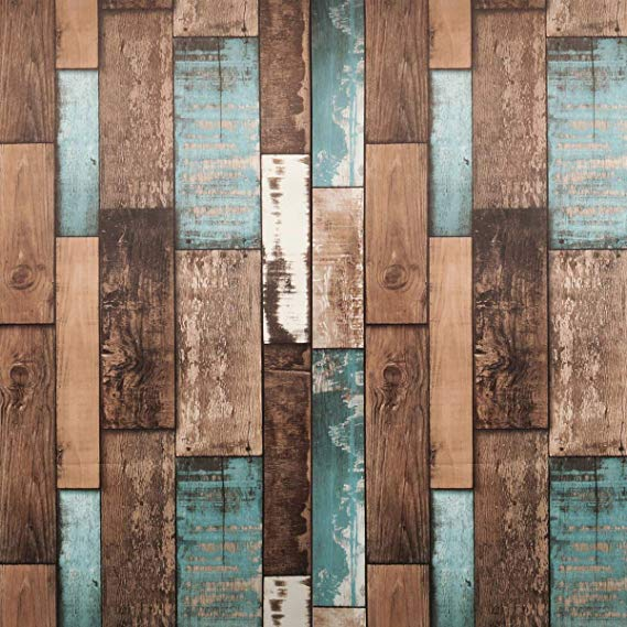Reclaimed Wood Peel and Stick Wallpaper Wood Wallpaper