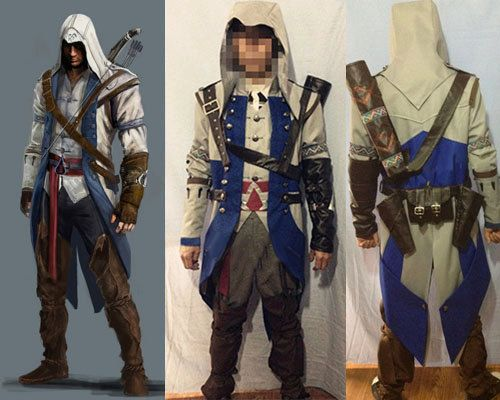 Connor Kenway High Quality Custom Cosplay Costume Outfit From