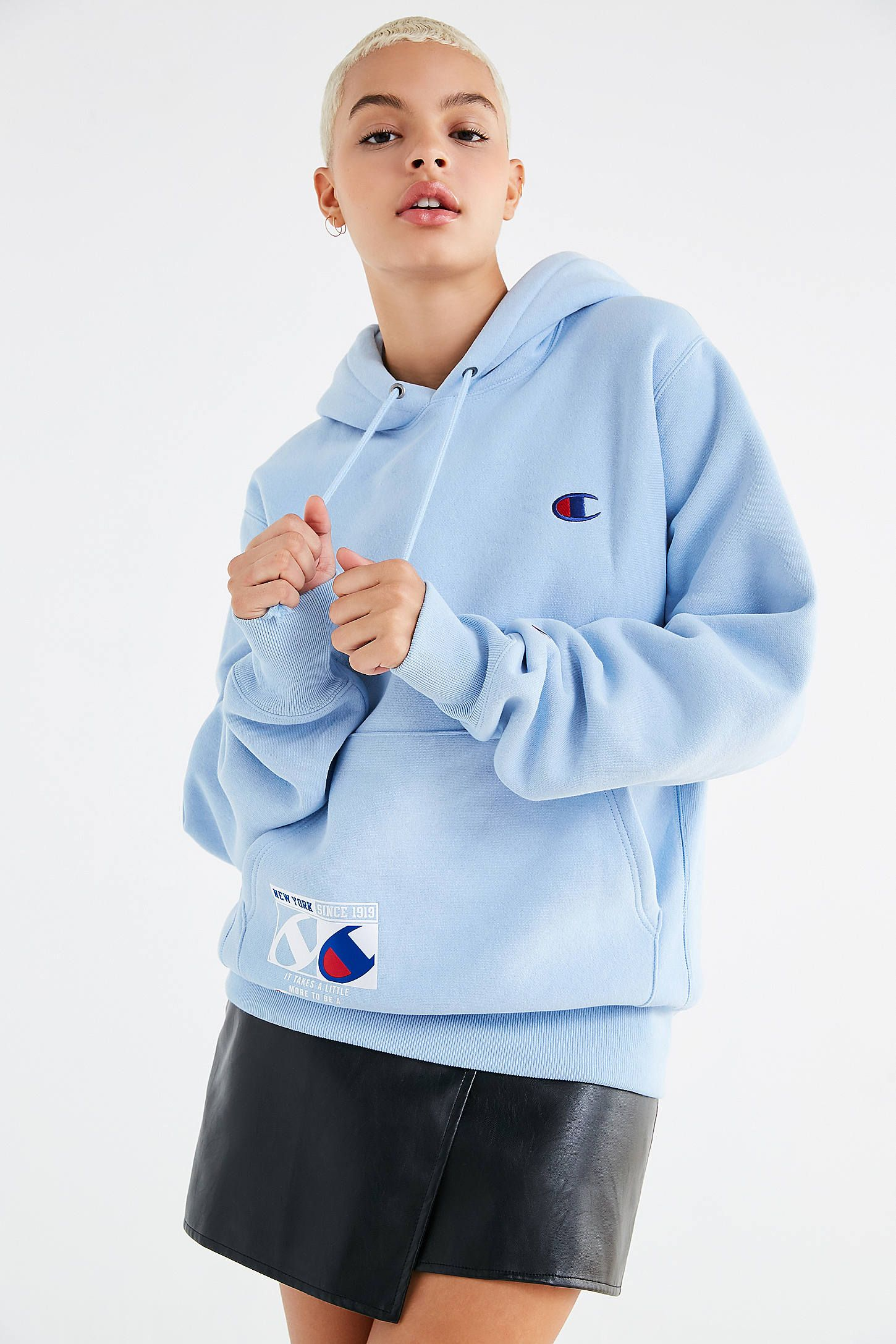 2323640e4658 Shop Champion   UO Novelty Graphic Hoodie Sweatshirt at Urban Outfitters  today. We carry all the latest styles