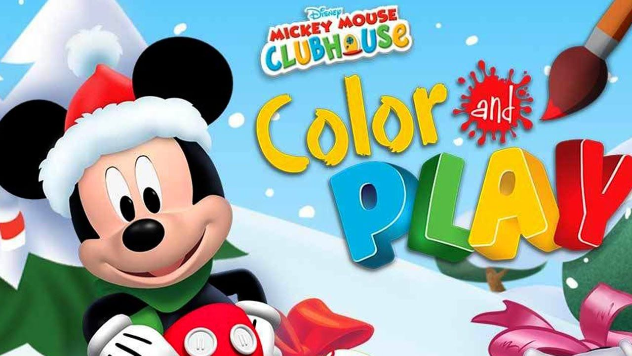 disney mickey mouse clubhouse christmas clubhouse color play - Mickey Mouse Clubhouse Christmas