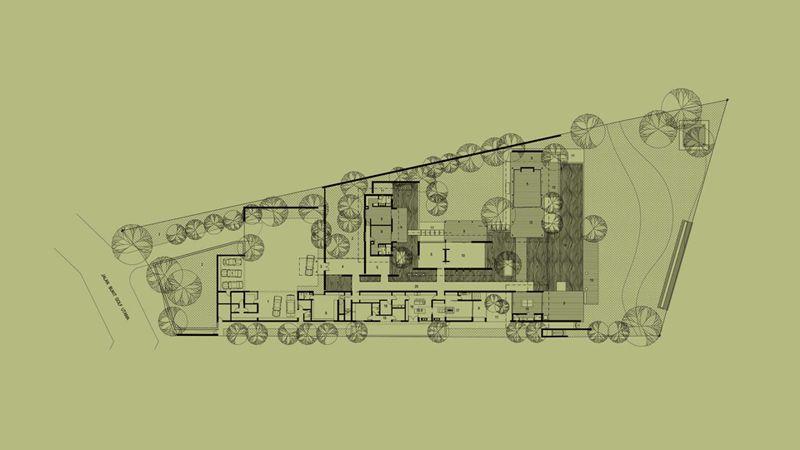 Site Plan Jakarta House