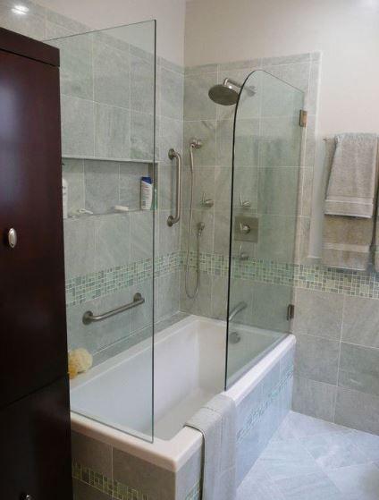 Best Pin By Jennifer Valentine On Love Bathroom Tub Shower 400 x 300