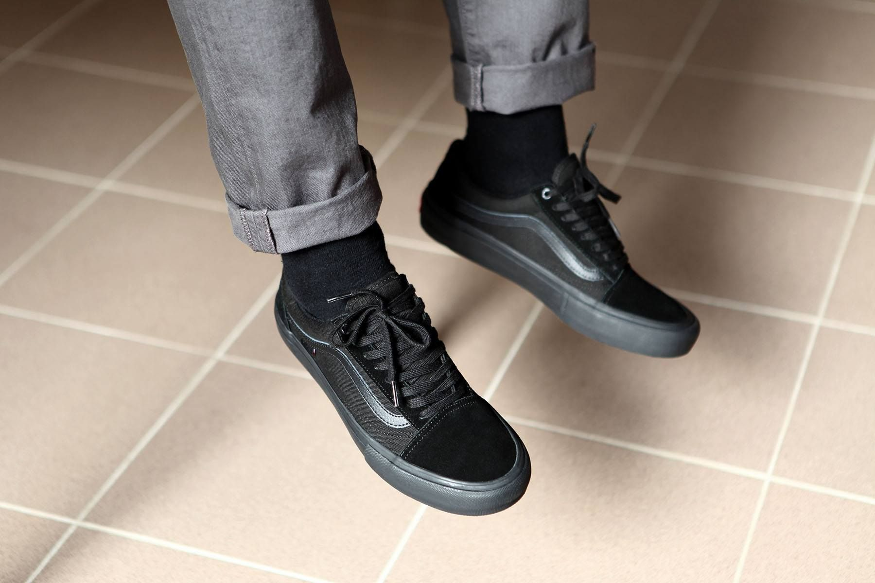 Vans Old Skool Pro Blackout popname.cz | Vans shoes