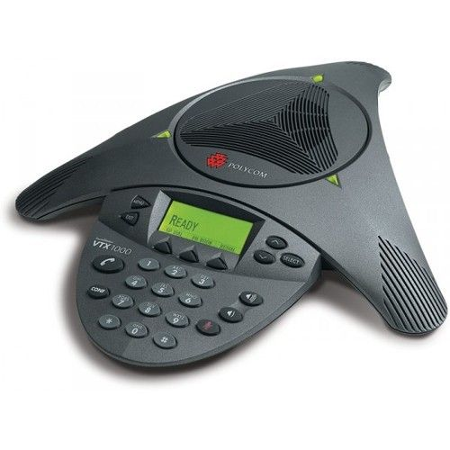 Polycom VTX1000 Wide Band Audio Conference Phone Conference Phones