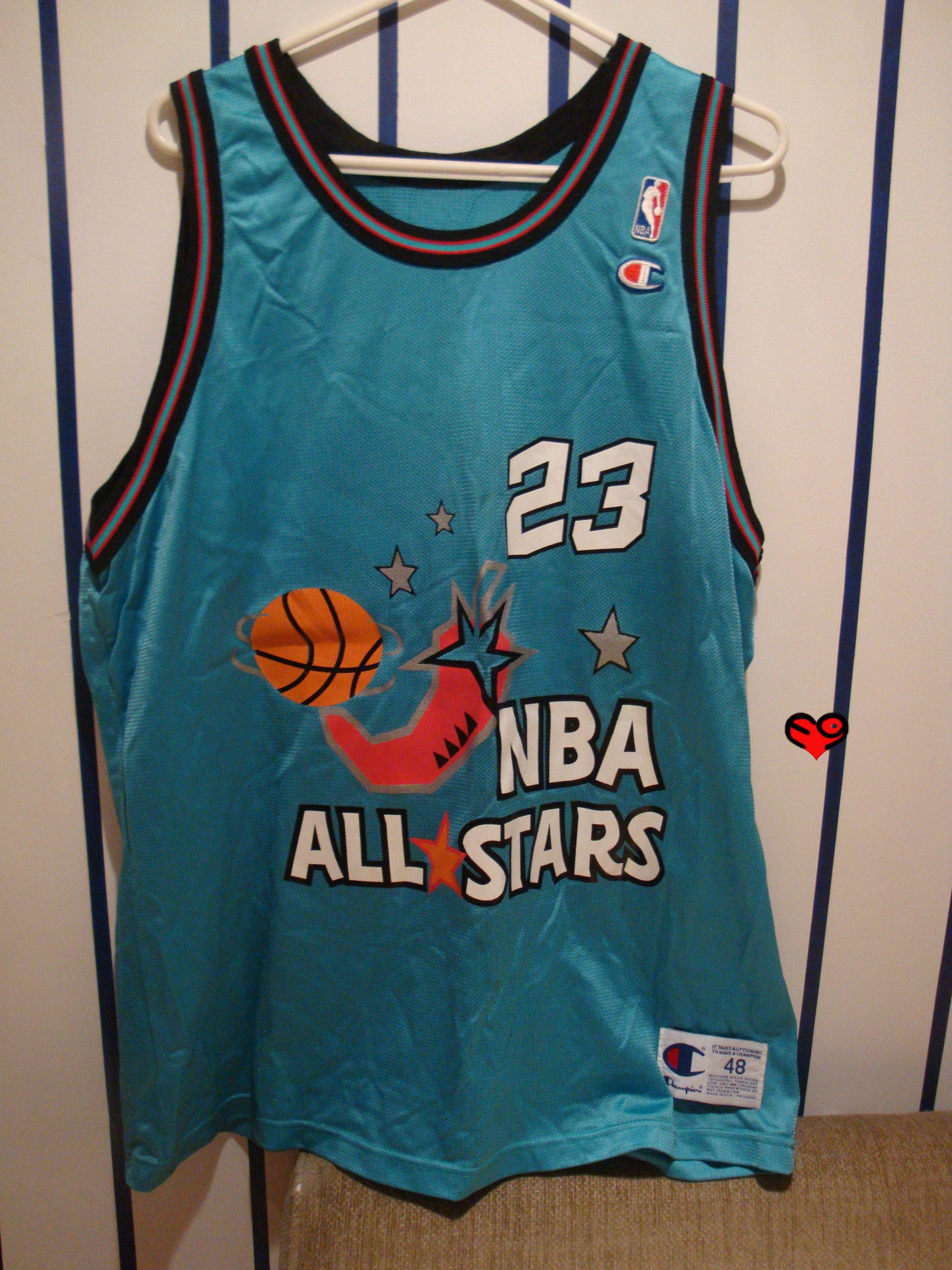 best service 77233 6dfa8 1996 Jordan All Star Replica Jersey (front) | Michael Jordan ...