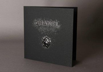 Carton Dinvitation Institutionnel Pour La Joaillerie Chanel Invitation Entreprise Marquage Carte Visiter