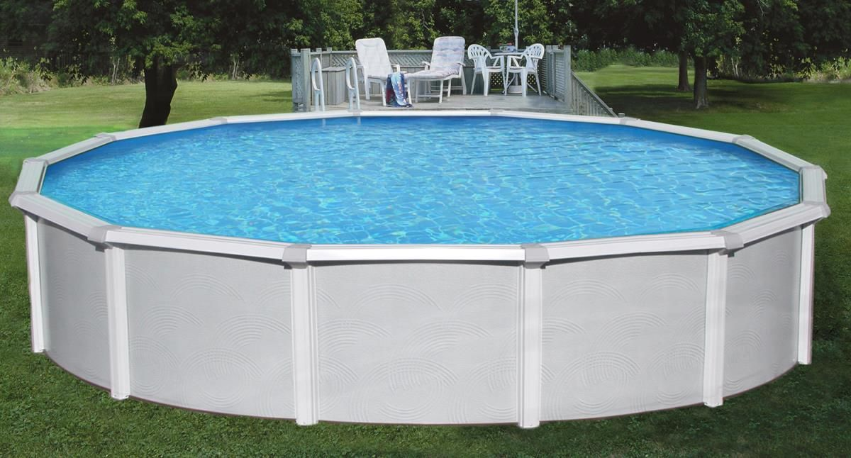 Blue Wave Nb1645 Samoan 27 X 52 Inch Round Above Ground Pool