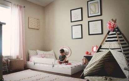 Arredamento Montessori ~ Amazing bedroom with mastress on the floor montessori love the