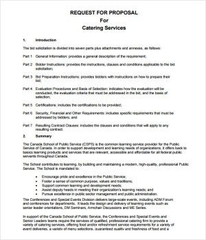 Request For Proposal Templates Proposal Templates Proposal