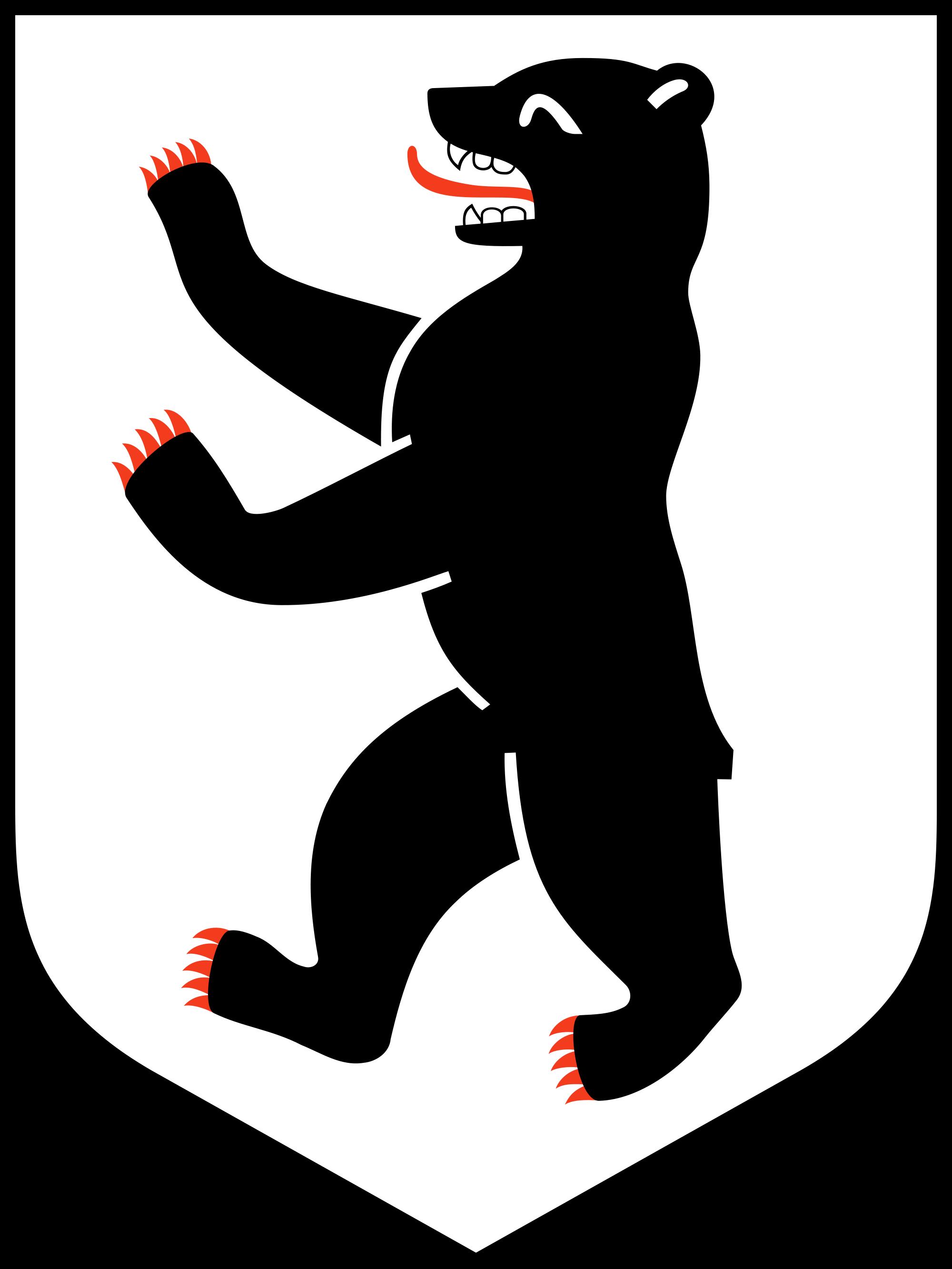 Image Result For Bear Symbol Berlin Coat Of Arms Bear Illustration