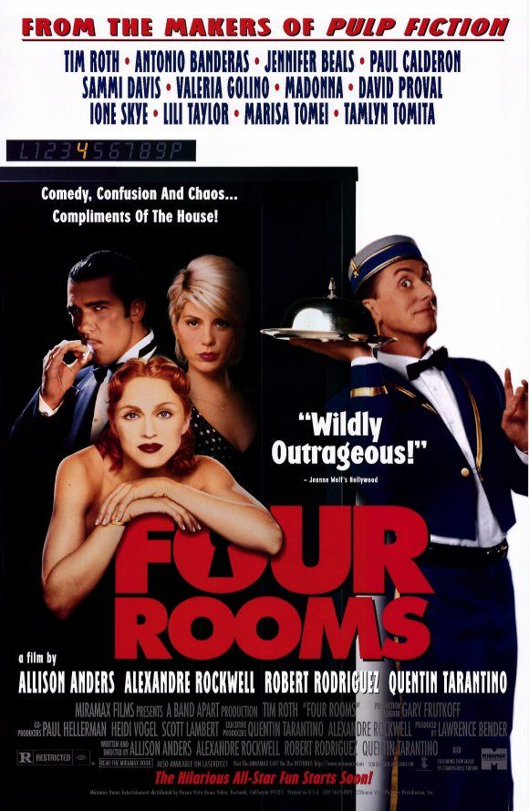 Image result for four rooms 1995