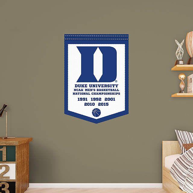 Duke Blue Devils Men's Basketball National Chionship Banner Rhzapinterest: Duke Blue Devils Home Decor At Home Improvement Advice