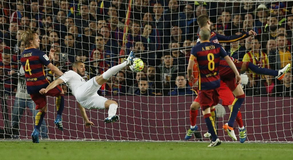 Barcelona Vs Real Madrid Resumen Goles Y Resultado Marca Com Camp Nou Real Madrid Goles