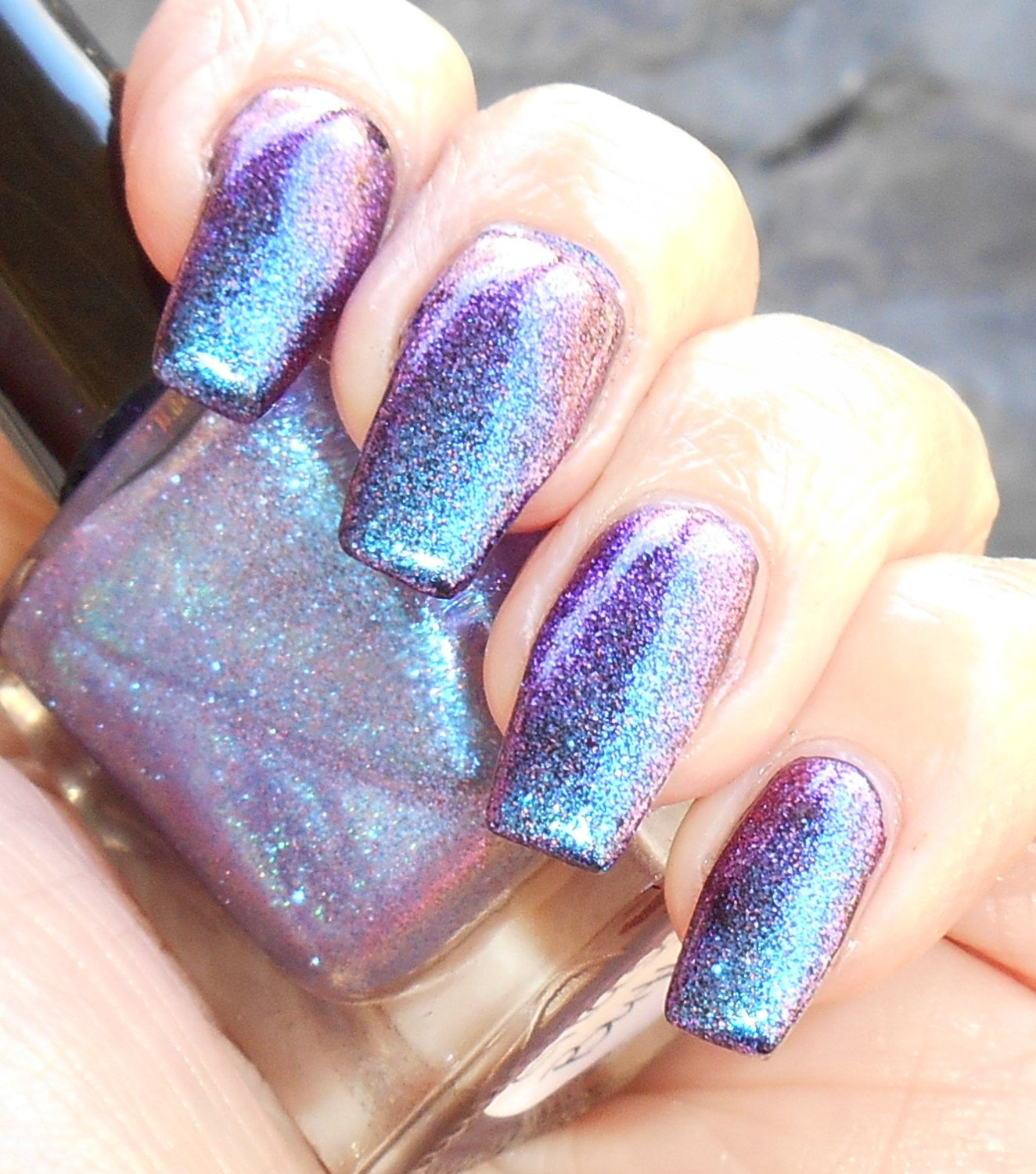 Glass Butterfly - multichrome top coat color shift nail polish by ...