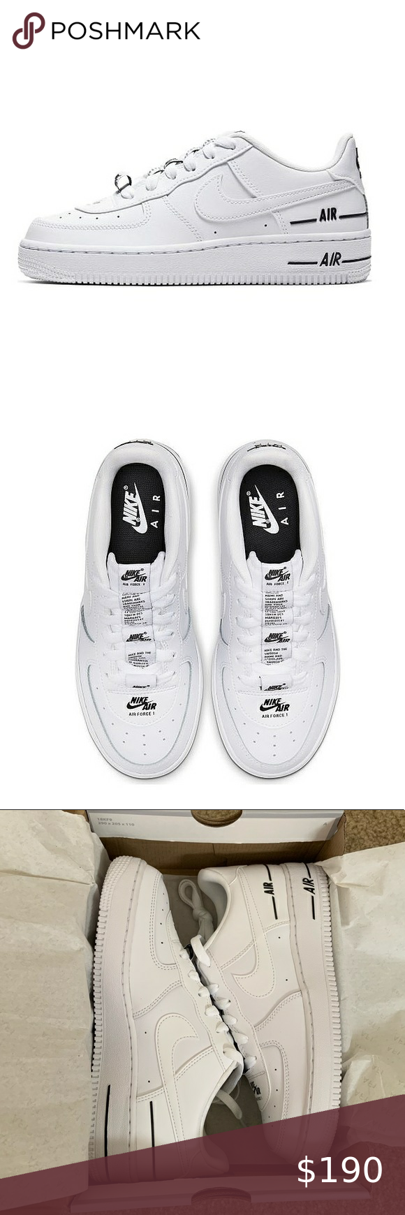 New Nike Air Force 1 Double Air in 2020