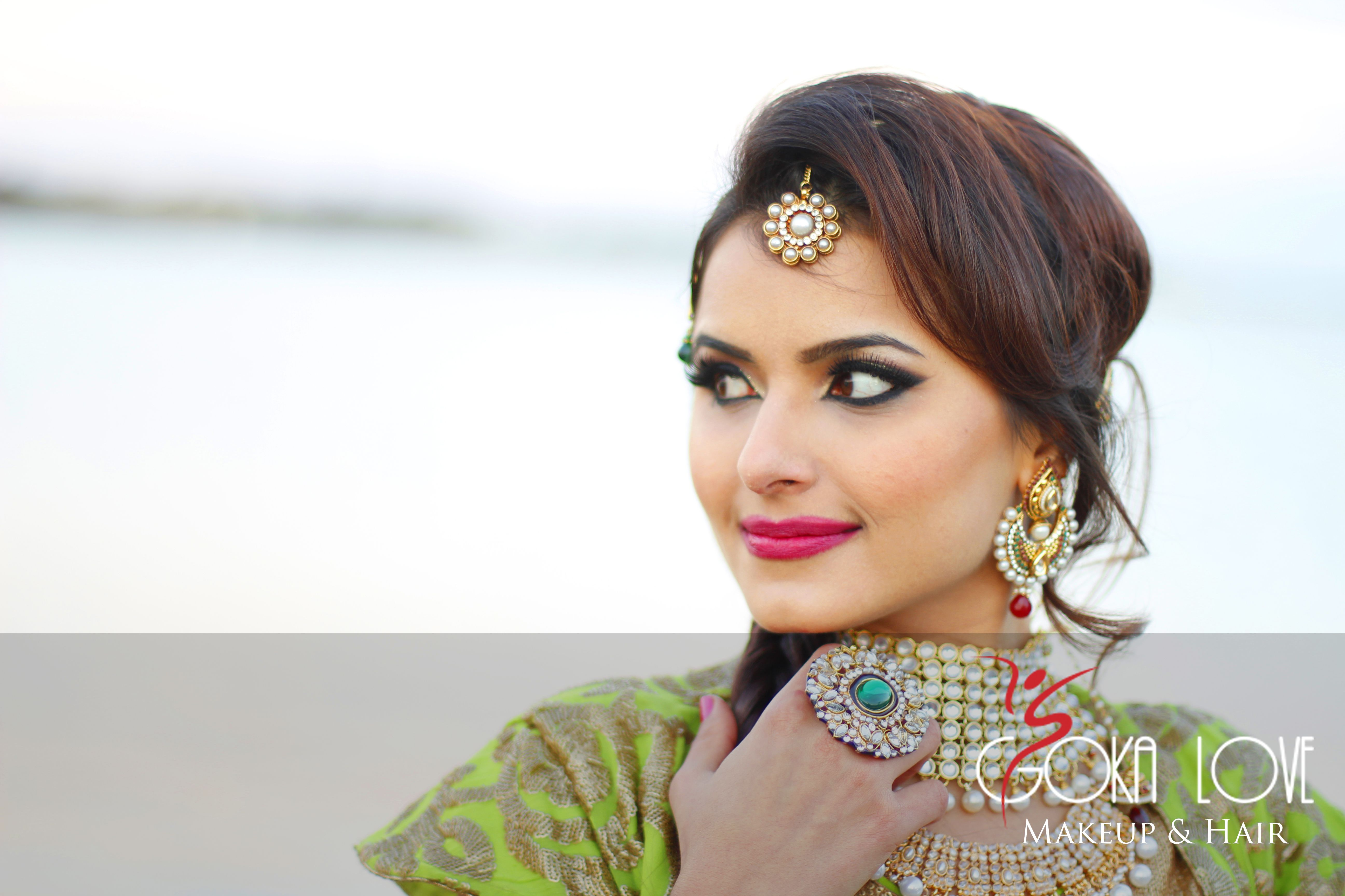 Indian Bridal Makeup and Hair Check out the blog on this gokalove ...