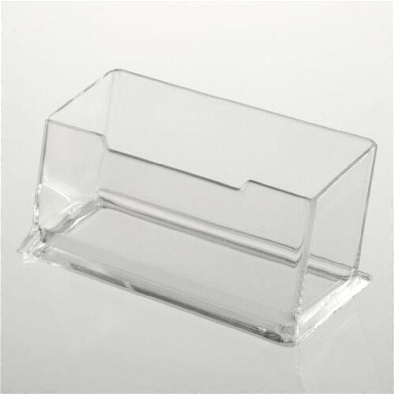 1pcs New Clear Desk Shelf Box storage Display Stand Acrylic Plastic ...