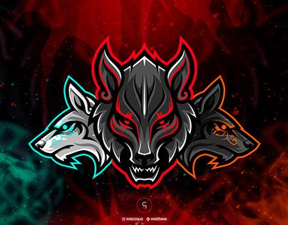 Wolf Esport Logo projects Photos, videos, logos