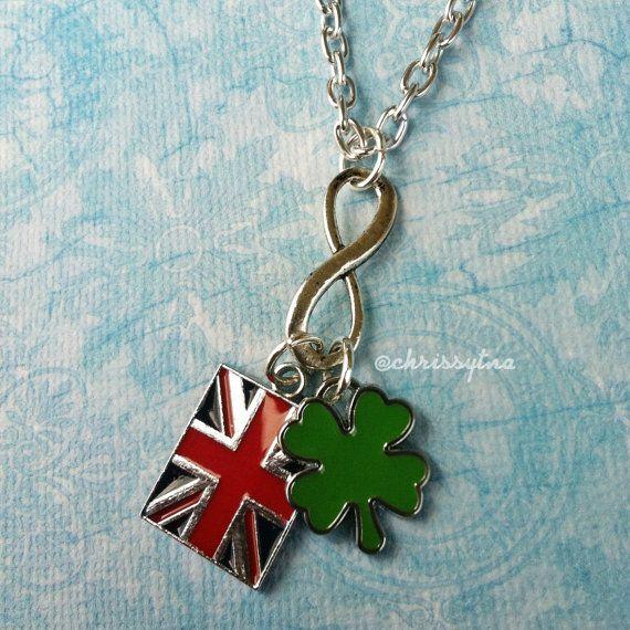 One Direction inspired necklace // Infinity - Harry Styles, Niall Horan, Liam Payne, Louis Tomlinson, & Zayn Malik