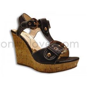 Sandalia Negra Only 98E5d