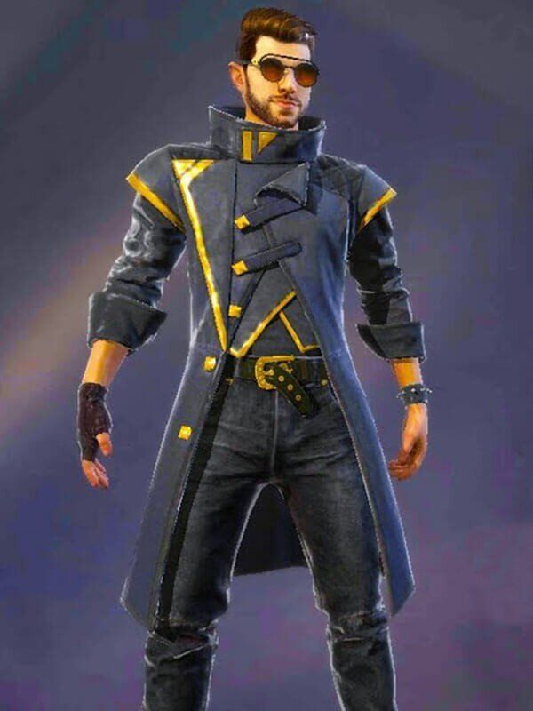 Drop The Beat Free Fire Alok Coat New American Jackets In 2020 Gaming Jackets Game Wallpaper Iphone Fire Image