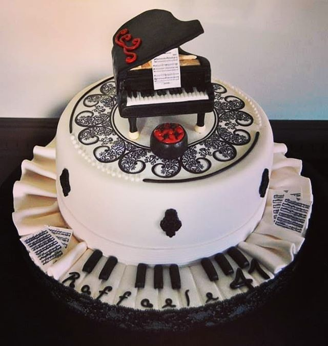Piano Cakes, Music Themed Cakes, Music Cakes