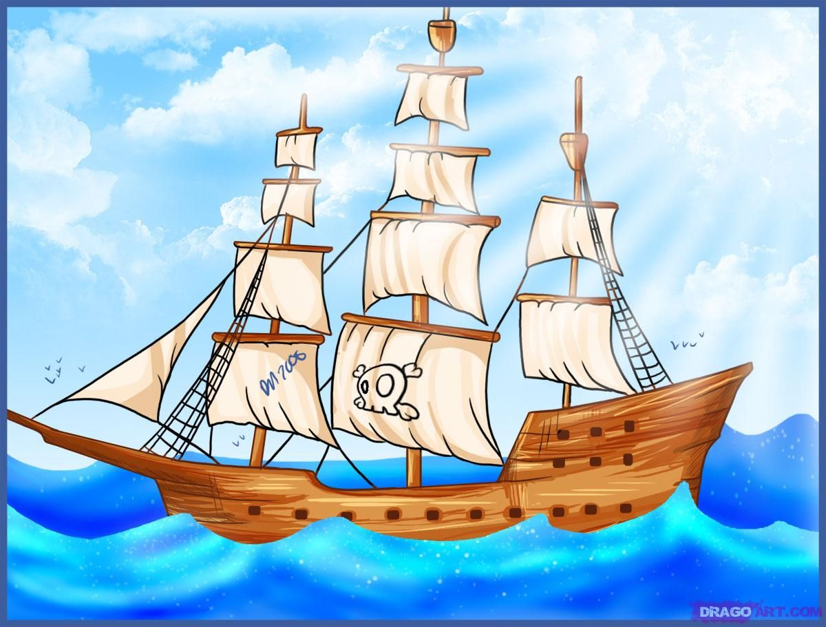 29++ Pirate ship clipart gif information