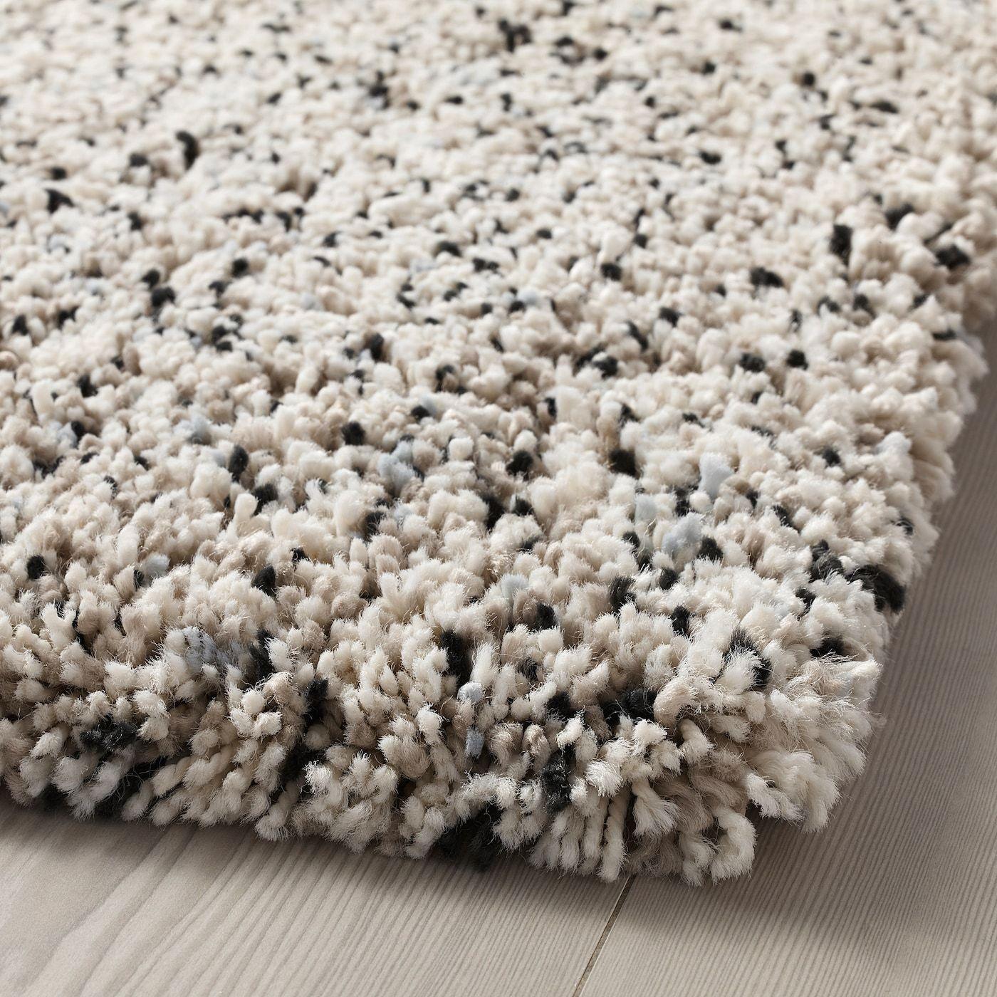 Vindum Rug High Pile White 6 7