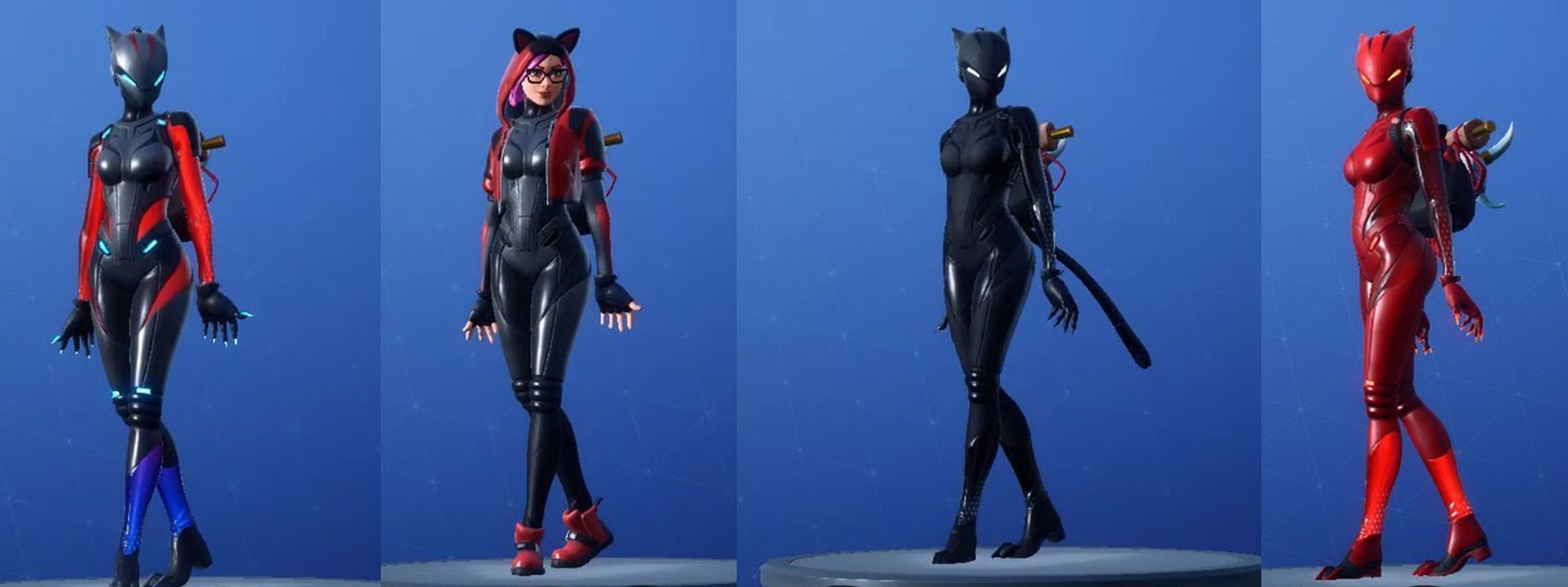New Lynx Skin Colors On Different Outfits In Fortnite Fortnite