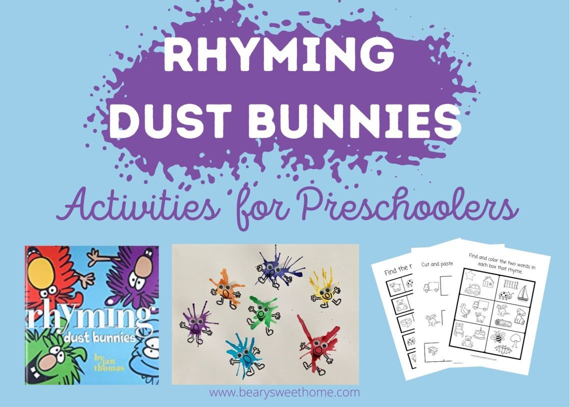 Rhyming Dust Bunnies Book Activities