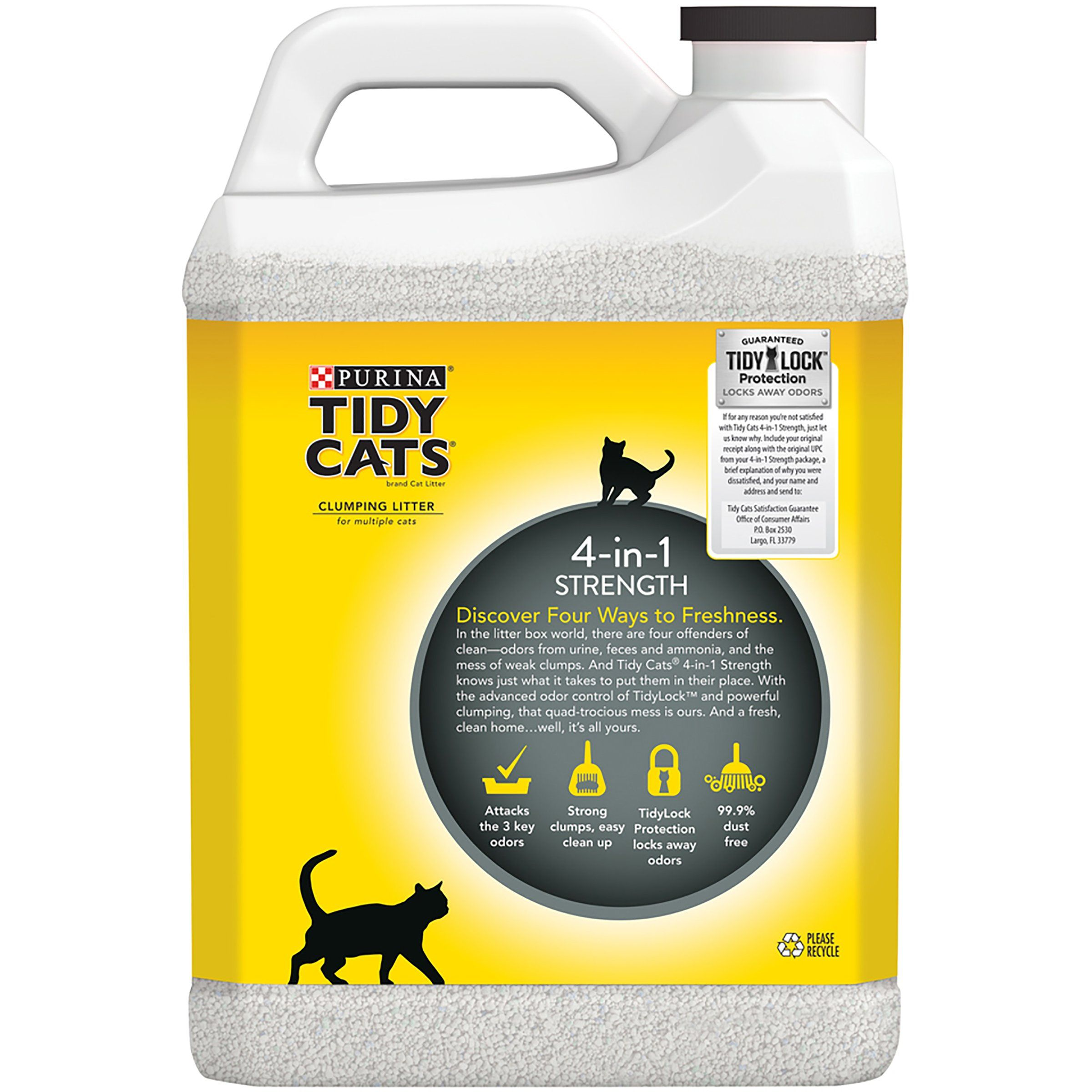 Purina Tidy Cats 4in1 Strength Clumping Cat Litter Two 2