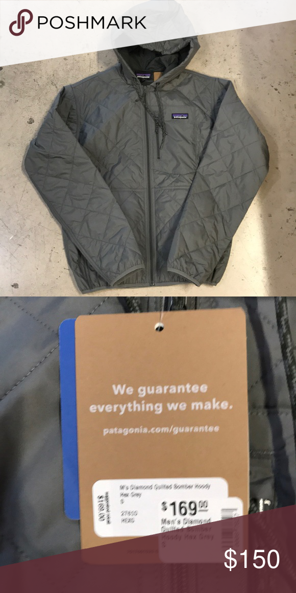 Diamond Quilted Bomber New Patagonia Diamond Quilted