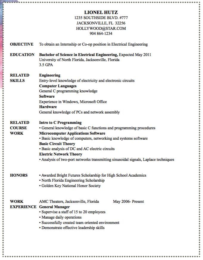 Electrical Engineer Resume See More Here Httpswwwsunfrogsearch53507&search