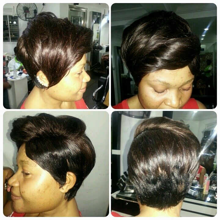 Short Hair Style By Hairxetera Afro B Hairstyles Hair Styles Medium Hair Styles