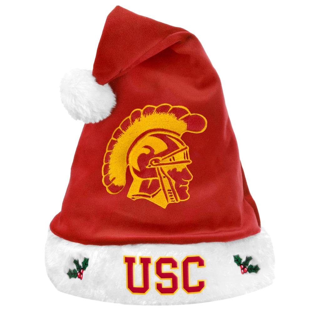 Forever Collectibles Usc Trojans Santa Hat Adult Usc Trojans