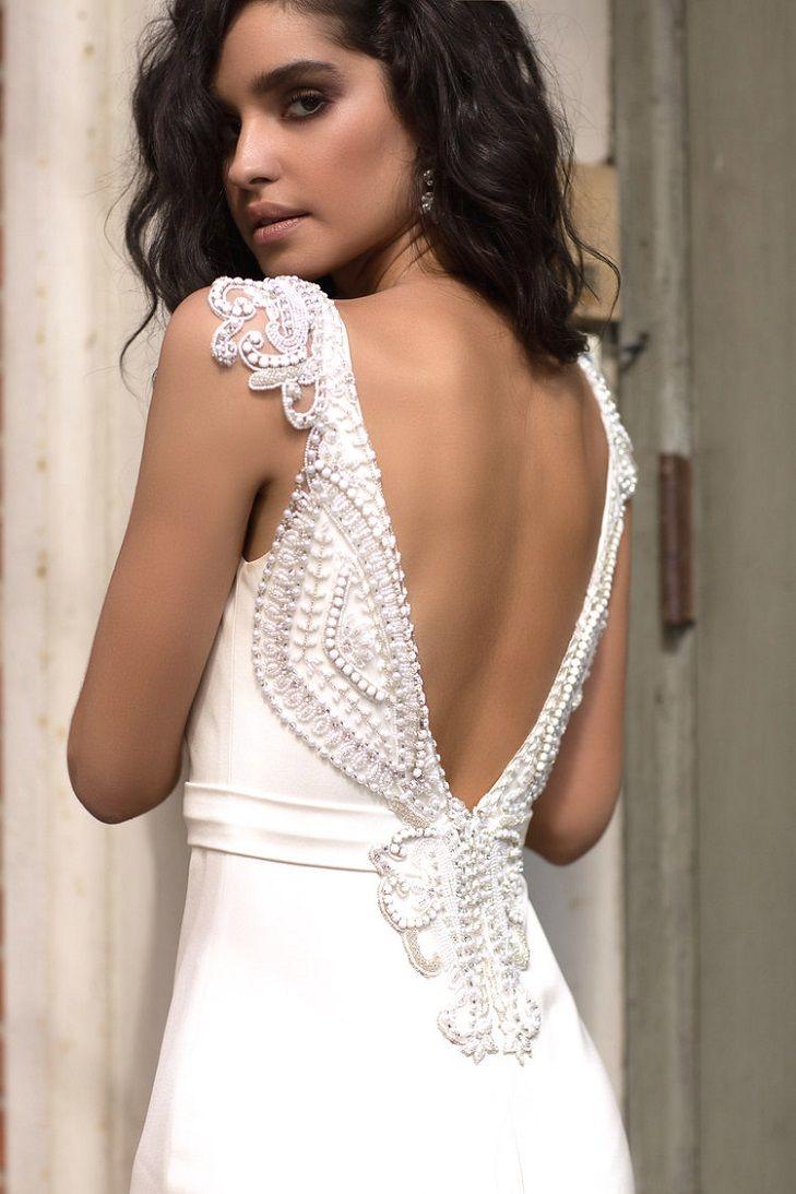 Blake Wedding Dress by Anna Campbell Wanderlust Collection