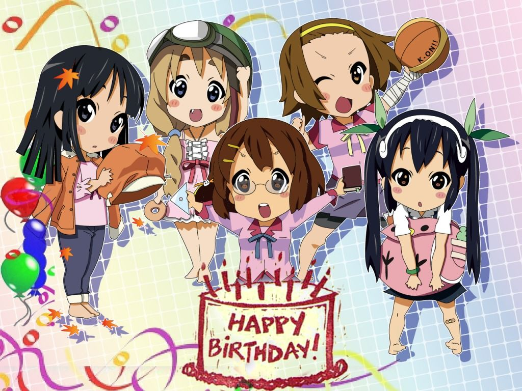 kawaii birthday Anime happy birthday Pinterest