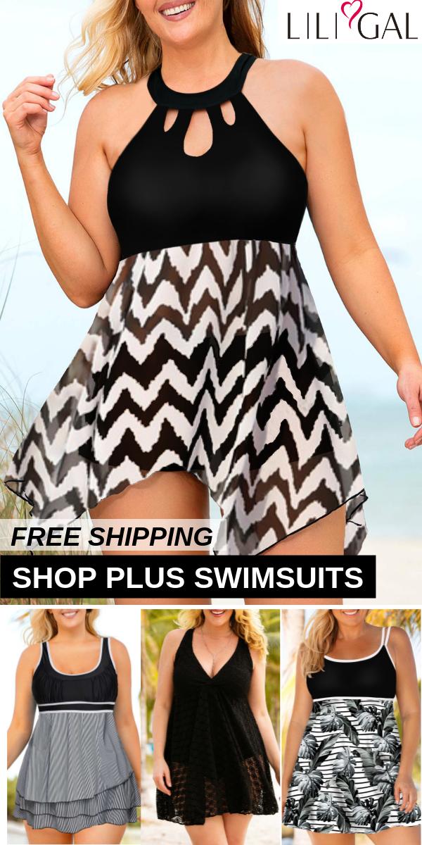 42e178b80b2 Free Shipping & Easy Return. Up to 56% Off. Sexy Black Printed Plus ...