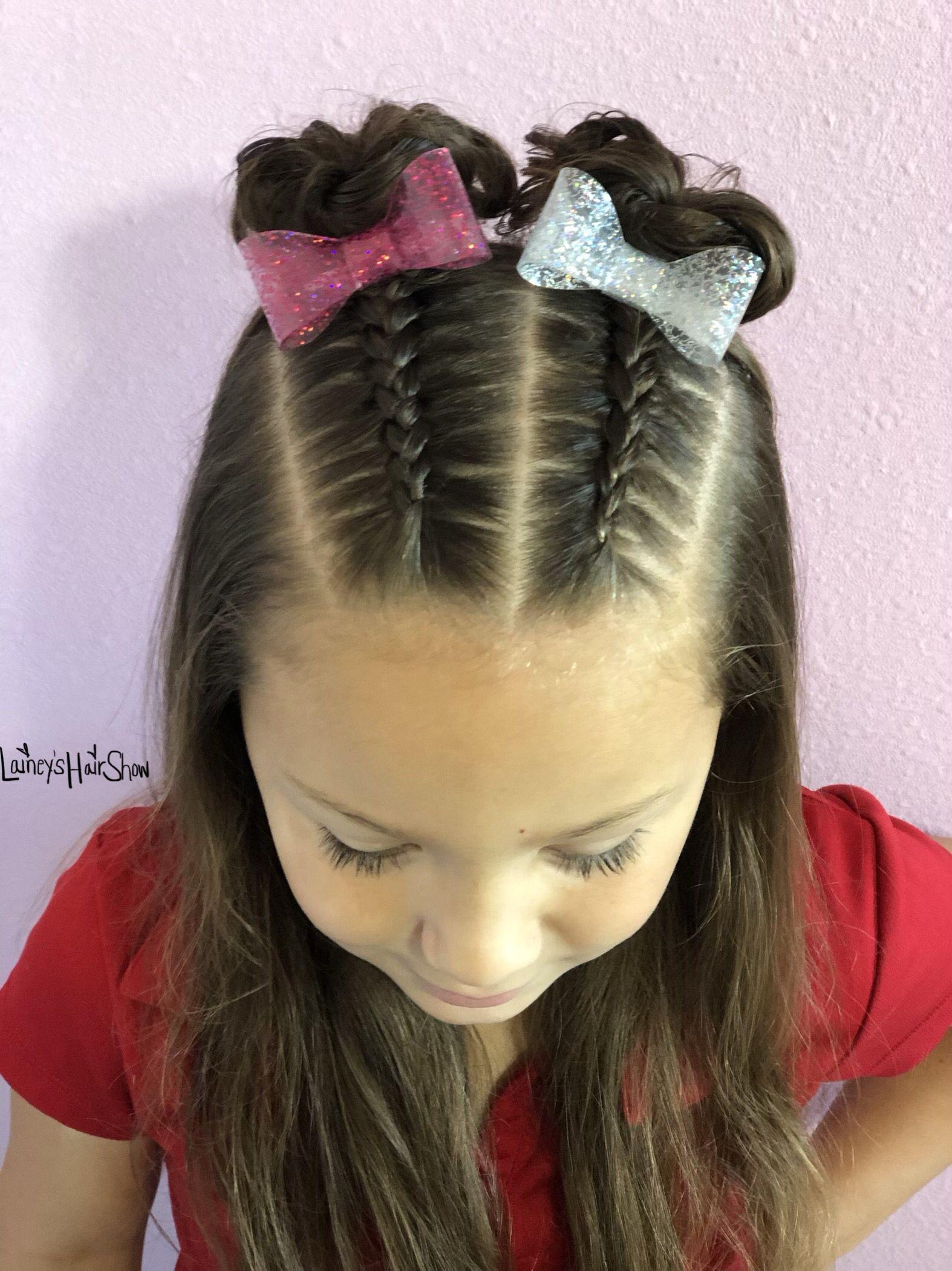 Pin De Littzy Ramii En Silabario En Espanol Peinados Infantiles Peinados Cabello Corto Nina Peinados Con Trenzas