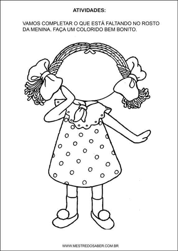 Sequência Didática esquema corporal na educação infantil
