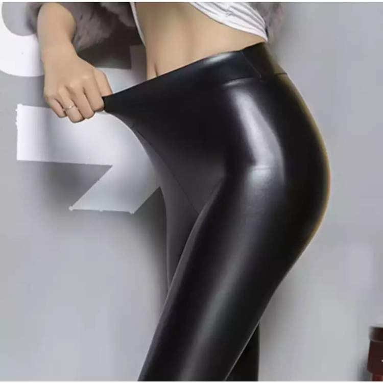 b5b1182e3d83c Thick Leggings in 2019 | Leather pants | Thick leggings, Leggings ...