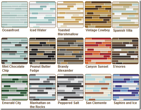 Modern Mosaics Pencil Mosaic Tile Wall Decals 168