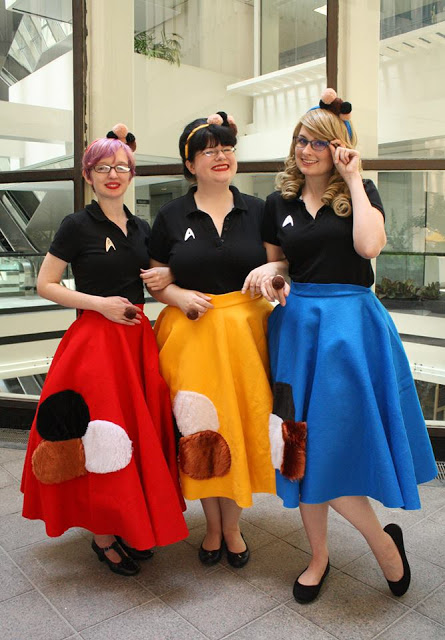 Sock Hopping Tribbles Star Trek Poodle Skirts Poodle Skirt Rock N Roll Dress Sock Hop